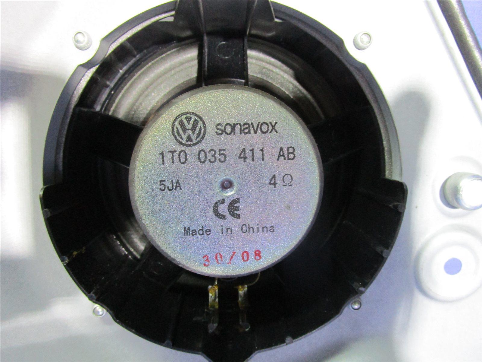 Динамик Volkswagen Touran 1T2HC3 BLG 2008
