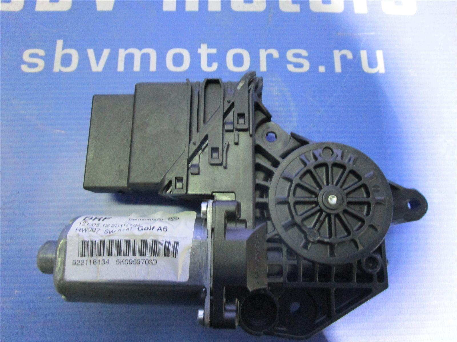 Мотор стеклоподъемника Volkswagen Golf 4 задний левый