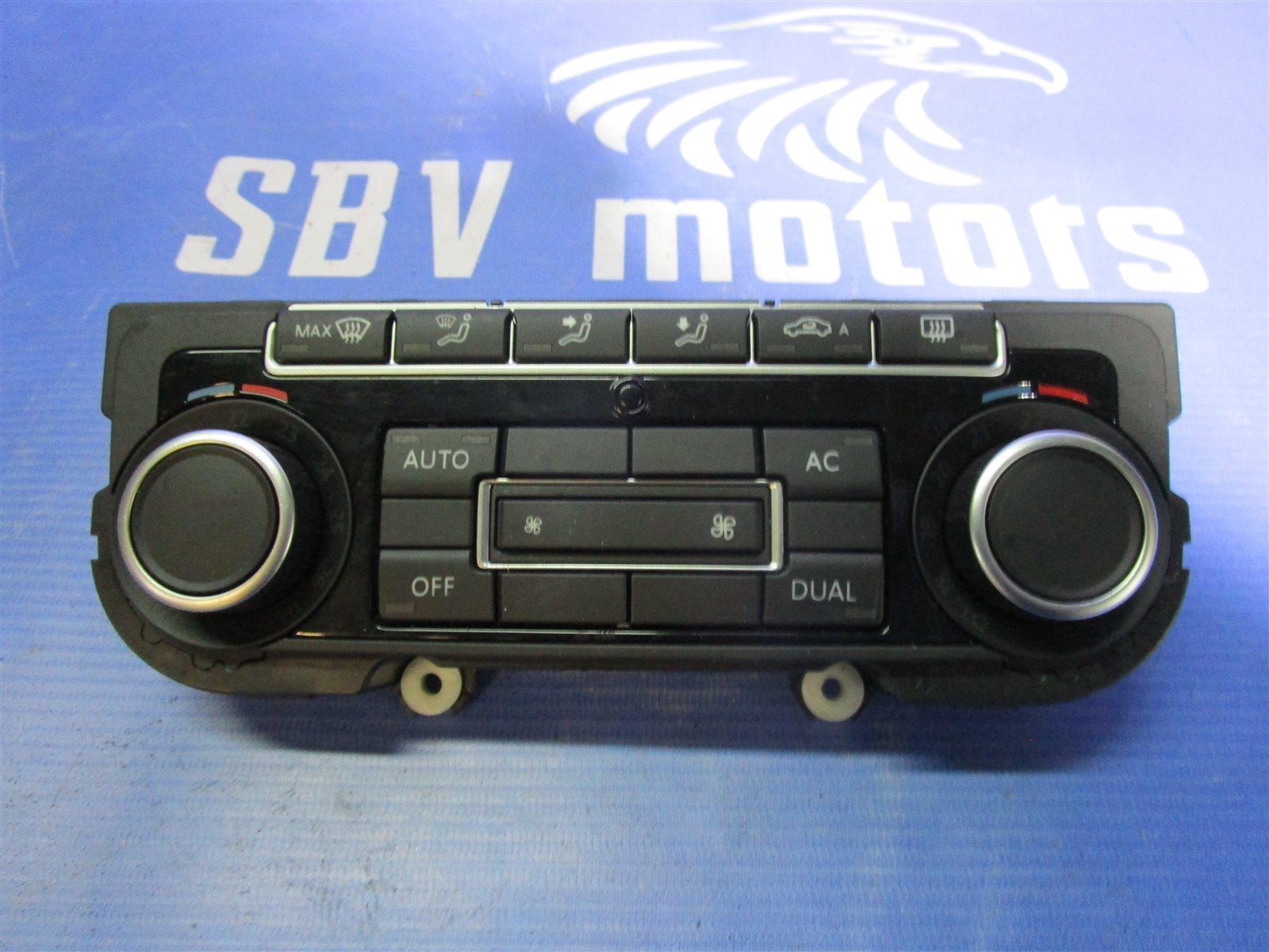 Панель кондиционера, блок кнопок климат -контроля. Volkswagen Passat B6 BVY 2006