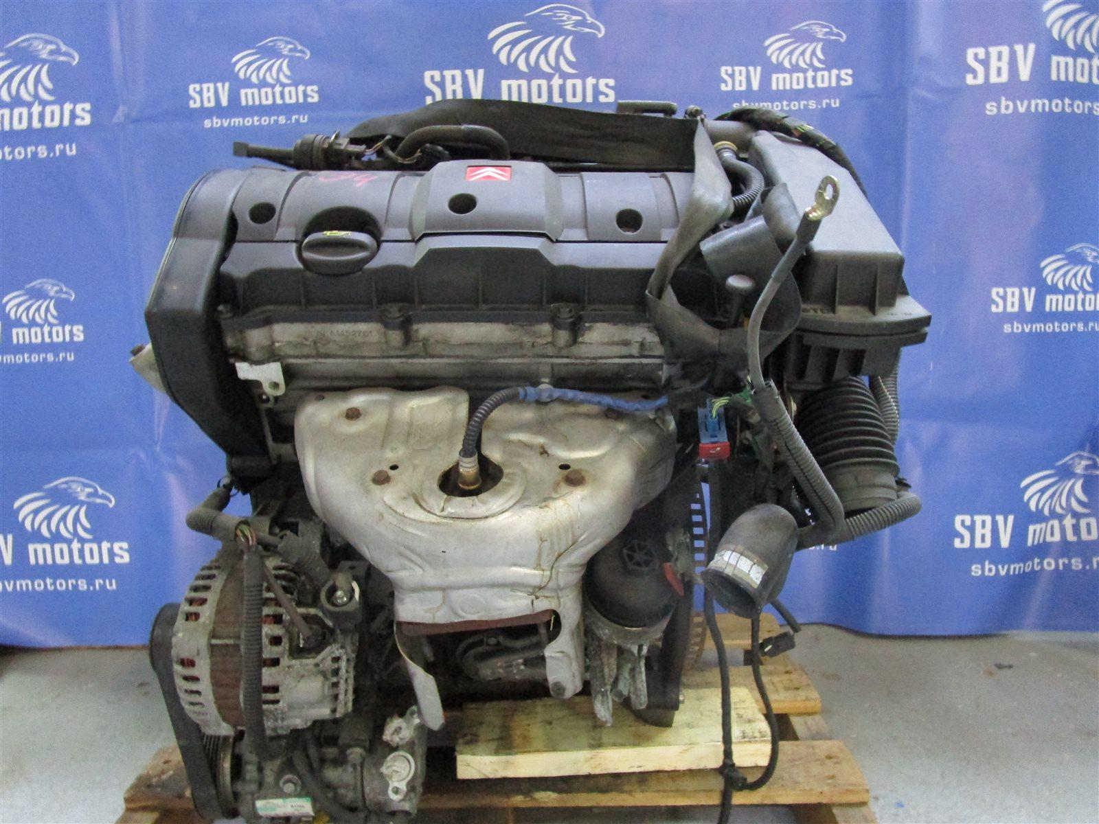 Двигатель Citroen C4 TU5JP4 2008