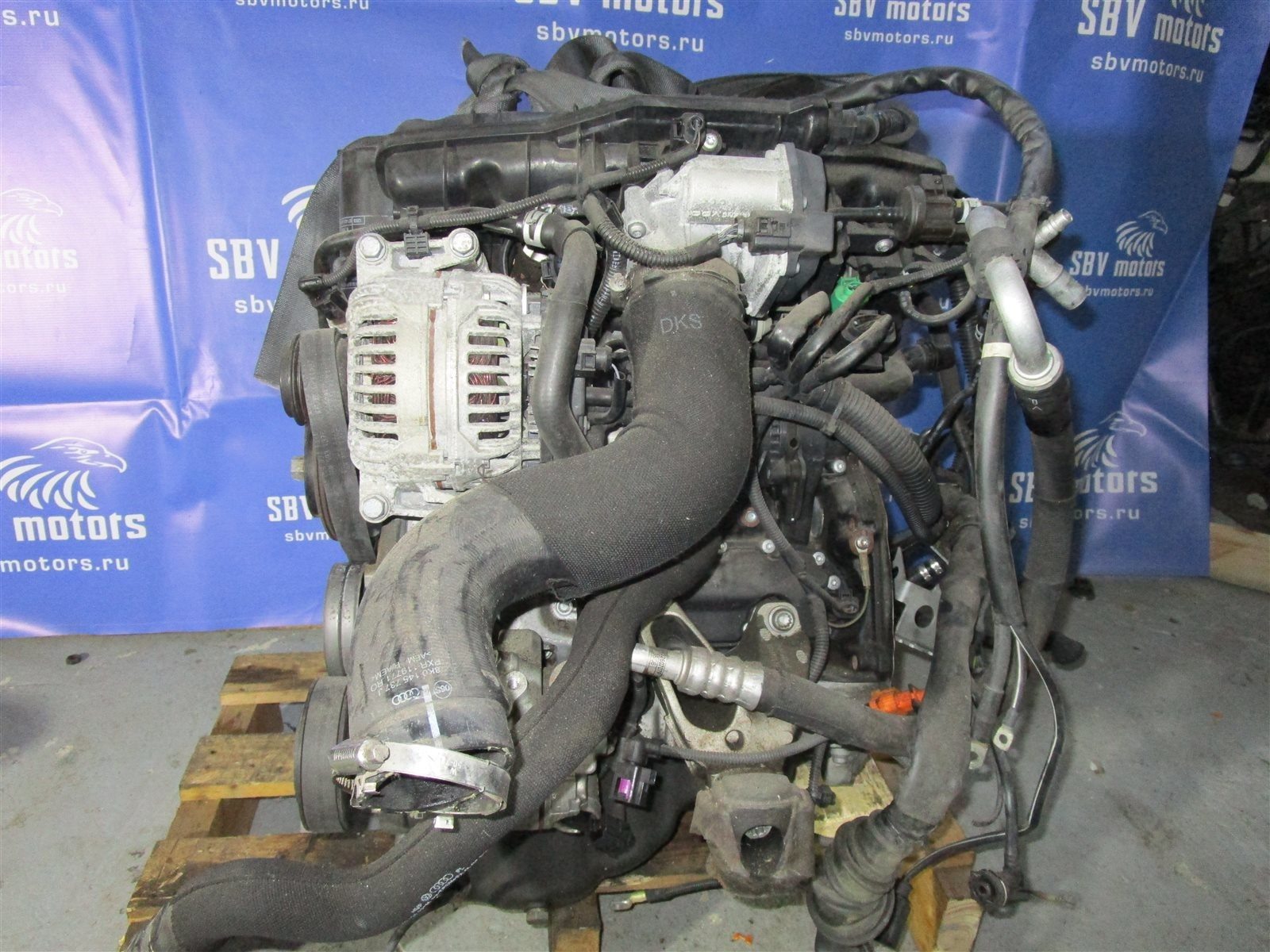 Двигатель Audi A4 B8 CDHB 2008