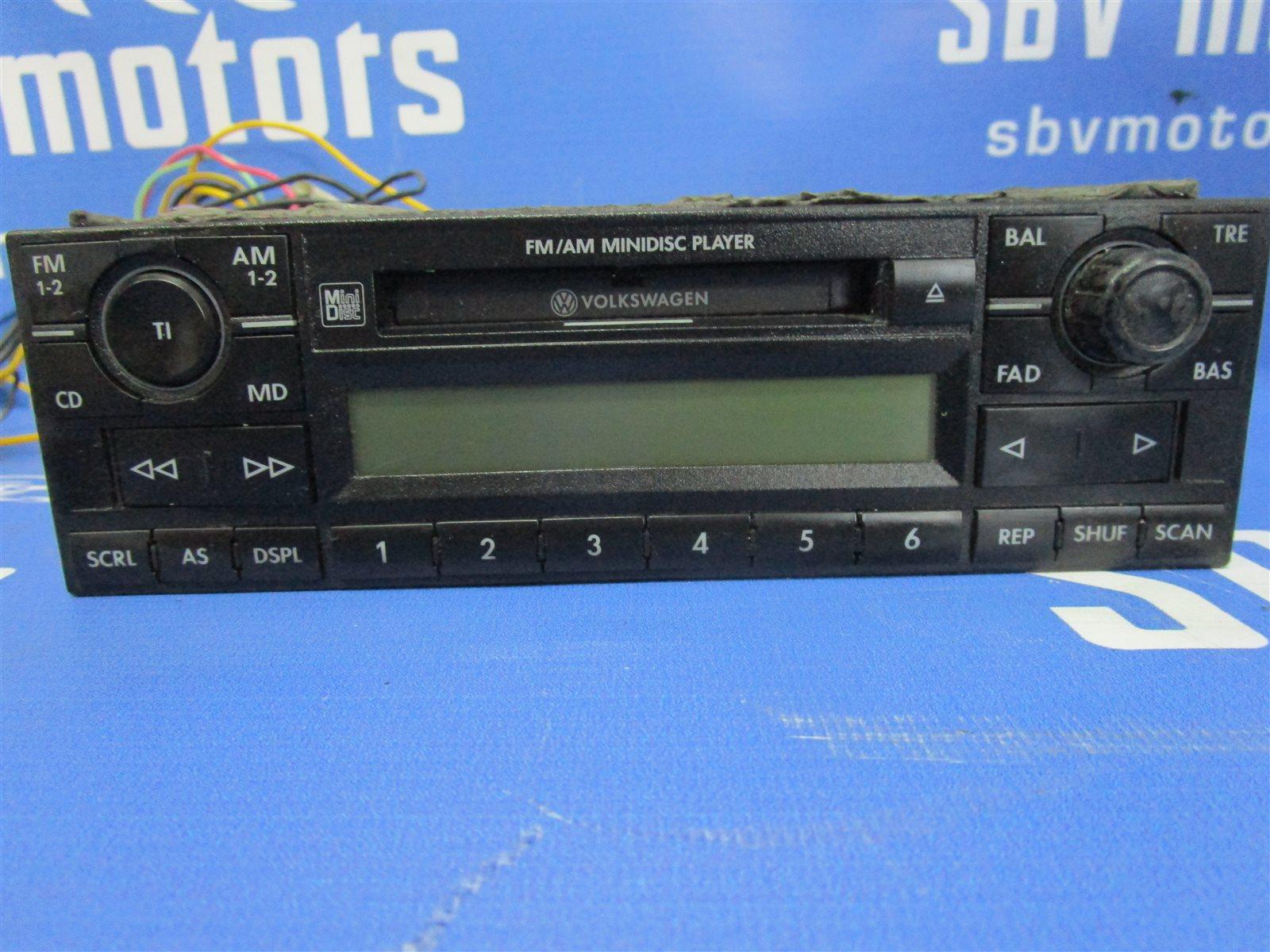 Магнитофон Volkswagen Polo 9N31G3 BKY 2006