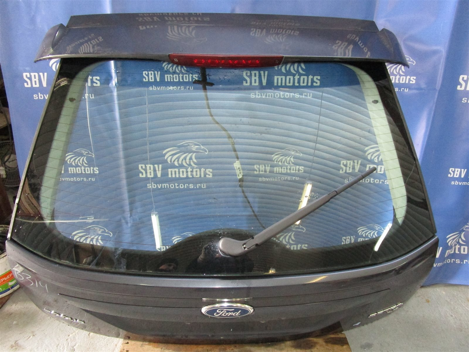 Крышка багажника Ford Focus HATCH SHDA 1.6 DURATEС 100 ЛС 2009г.