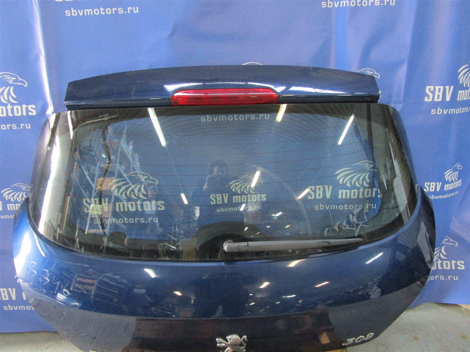 Крышка багажника Peugeot 308 S 120 EP6 2009
