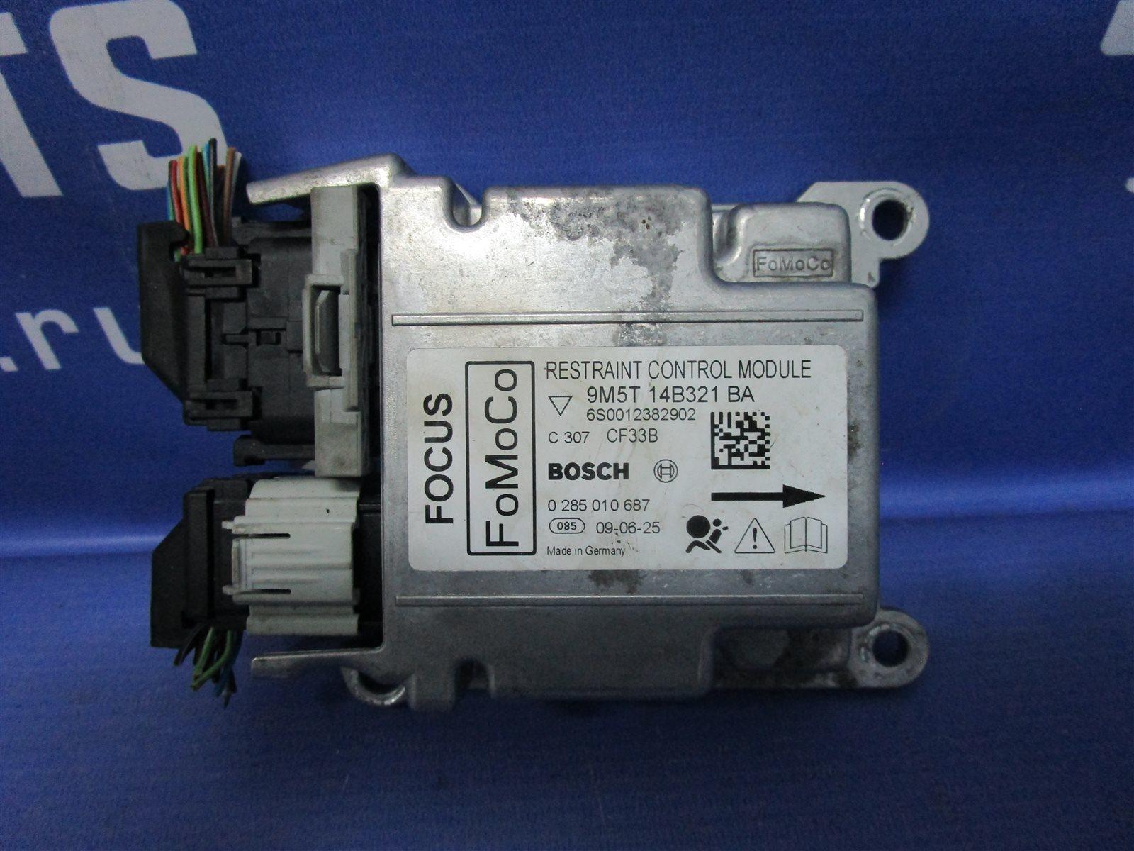 Блок управления аирбаг Ford Focus HATCH SHDA 1.6 DURATEС 100 ЛС 2009г.