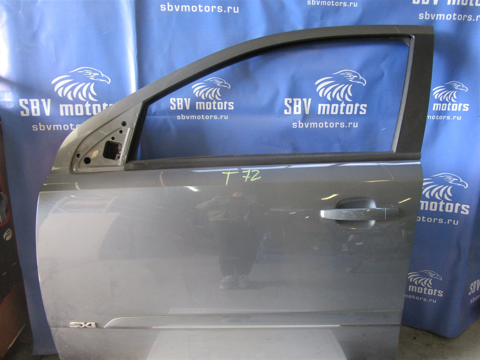 Дверь Opel Astra H L48 Z16XEP 2006 передняя левая