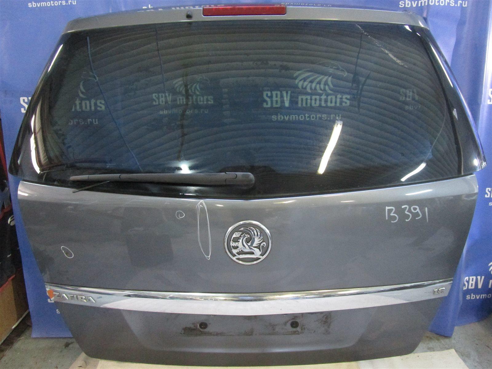 Крышка багажника Opel Zafira Z18XER 04.07.2007