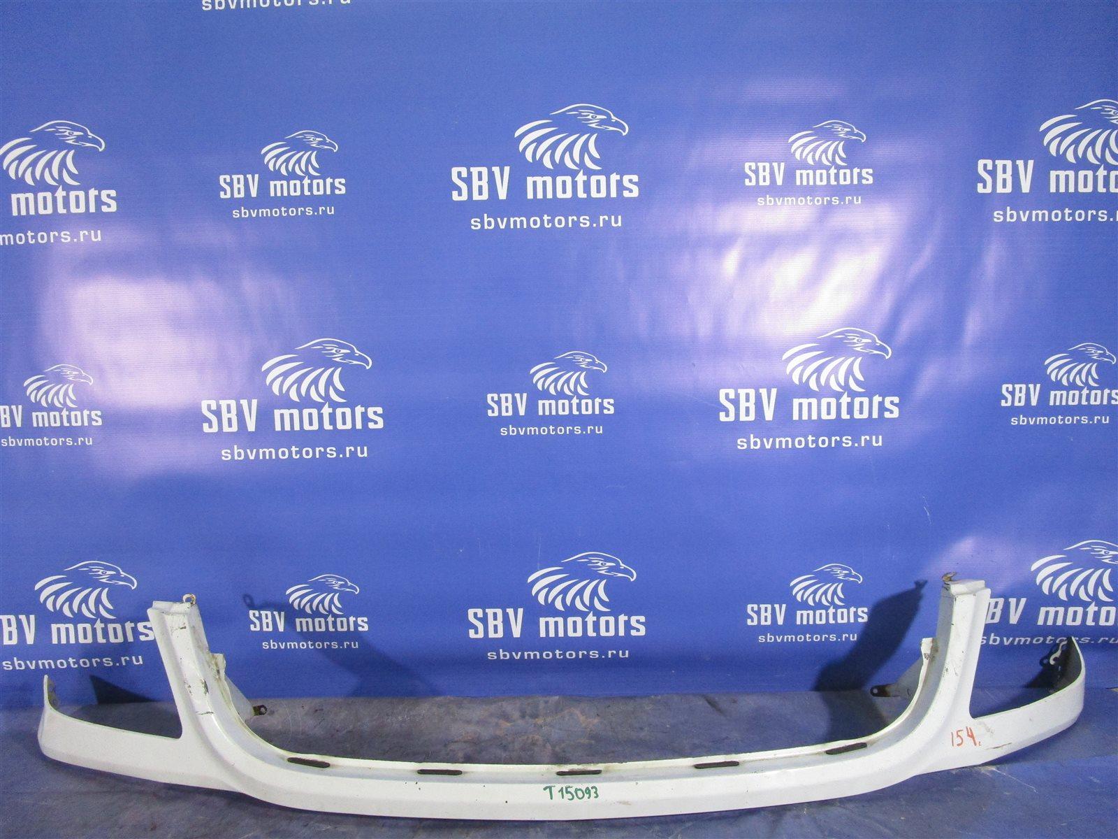Накладка на бампер Mercedes-Benz Sprinter ФУРГОН 646985 2007 передняя