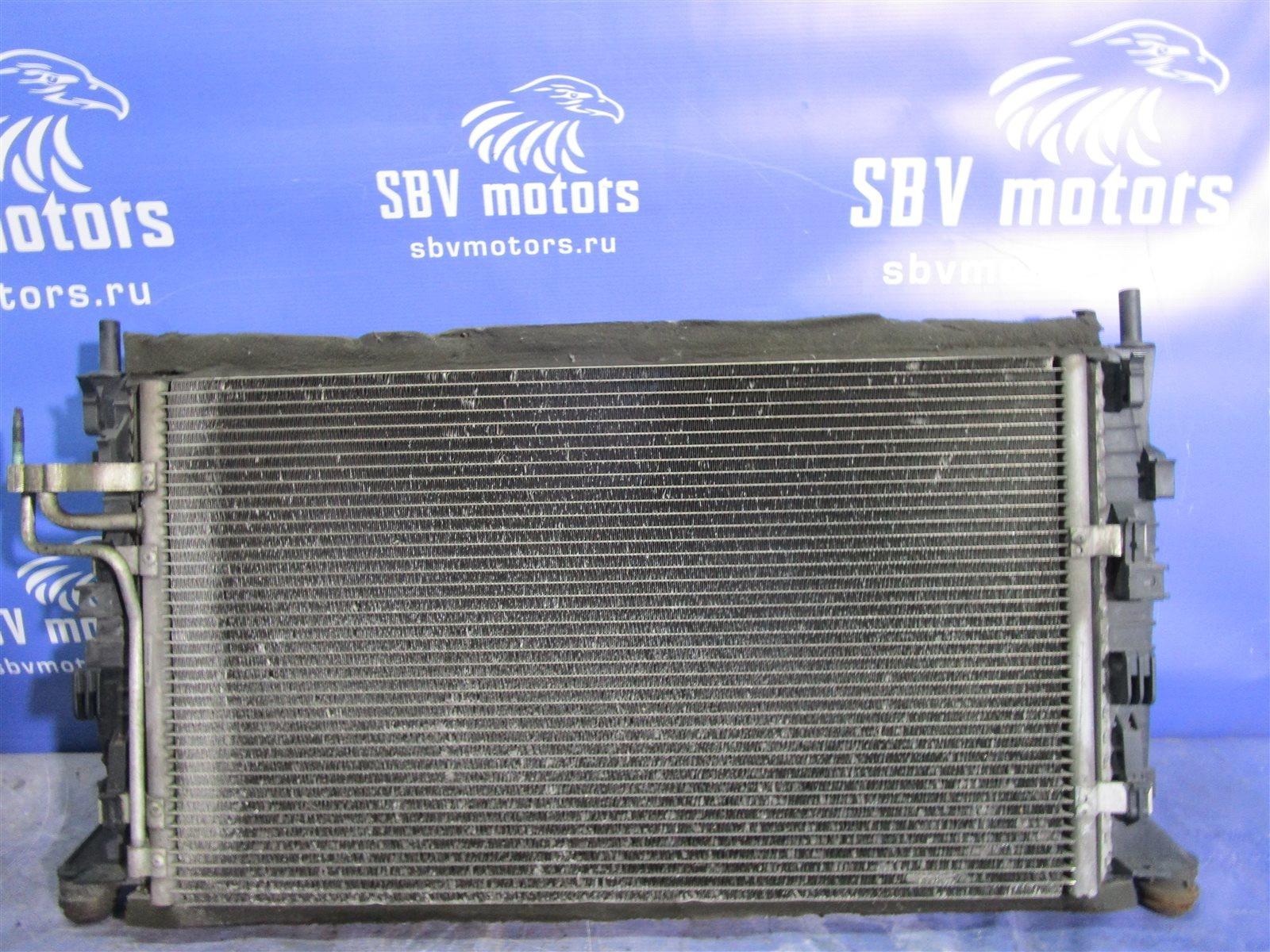 Вентилятор радиатора Ford Focus HATCH SHDA 1.6 DURATEС 100 ЛС 2009г.