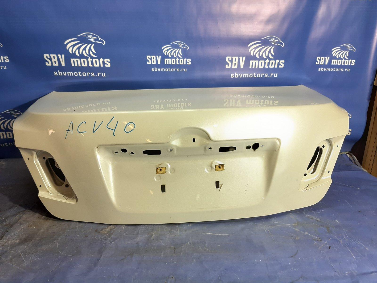 Крышка багажника Toyota Camry ACV40-3019848 2AZFE