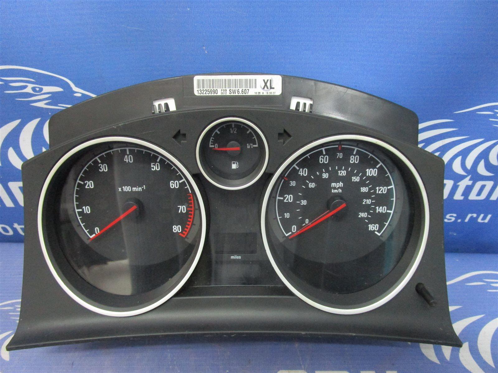 Щиток приборов Opel Zafira Z18XER 04.07.2007