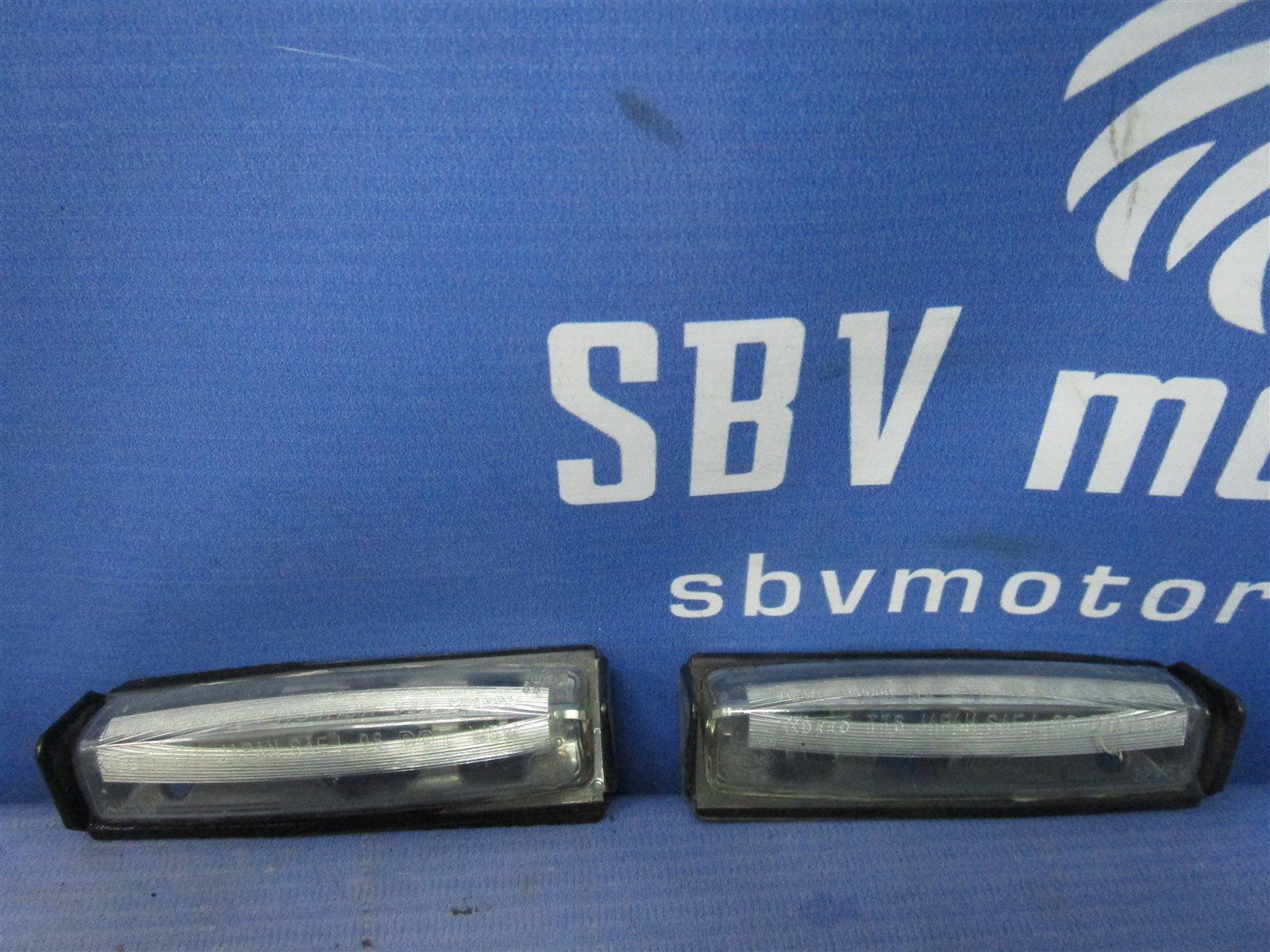Фонарь освещения номерного знака Toyota Camry ACV40-3019848 2AZFE задний
