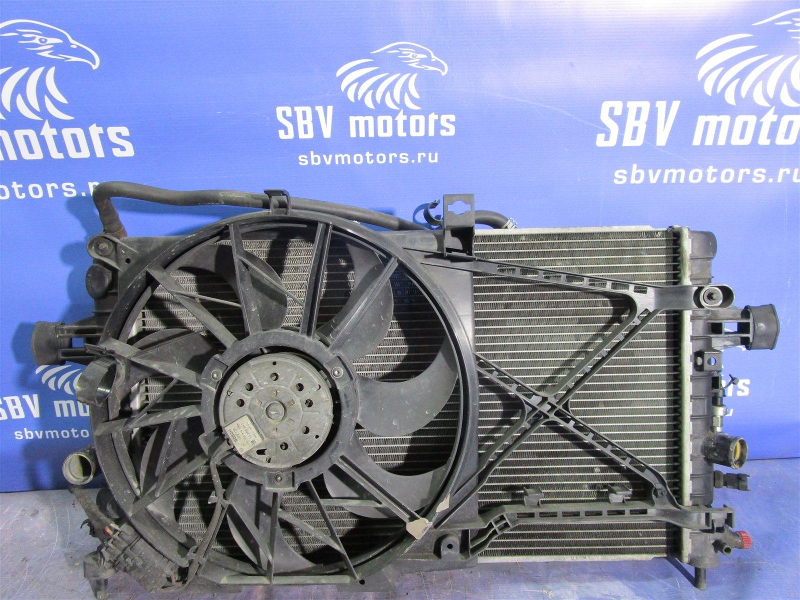 Вентилятор радиатора Opel Astra H L48 Z16XEP 2006 передний