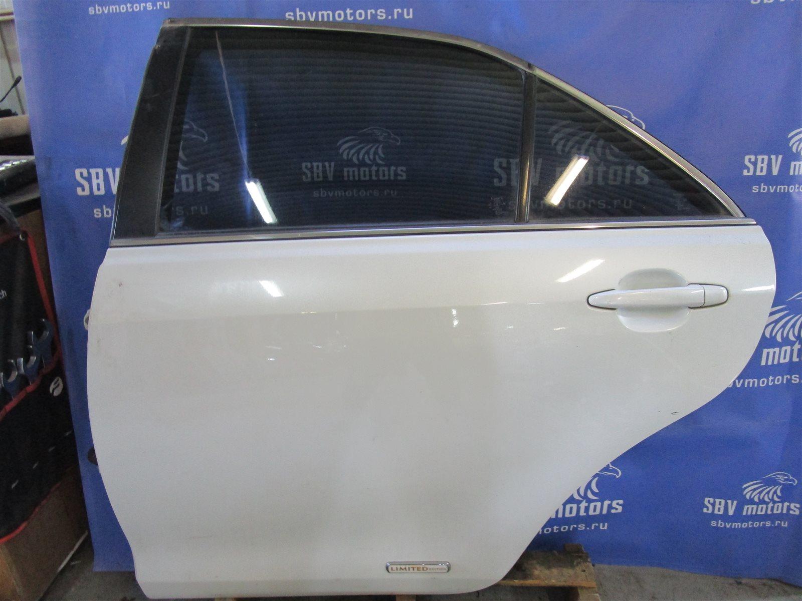 Дверь Toyota Camry ACV40-3019848 2AZFE задняя левая
