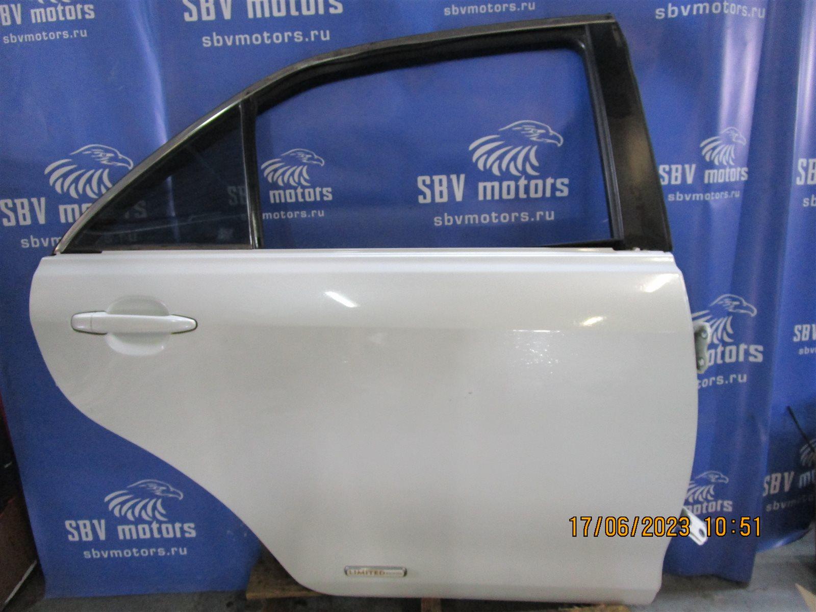 Дверь Toyota Camry ACV40-3019848 2AZFE задняя правая