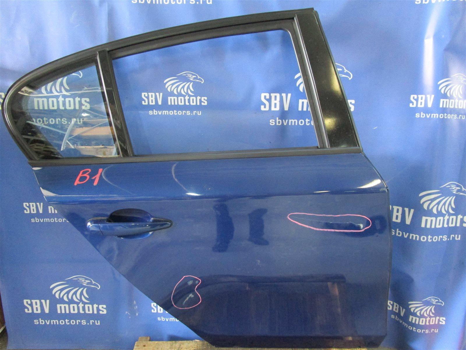 Дверь Bmw 1-Series E87 N52B30A 2008 задняя правая