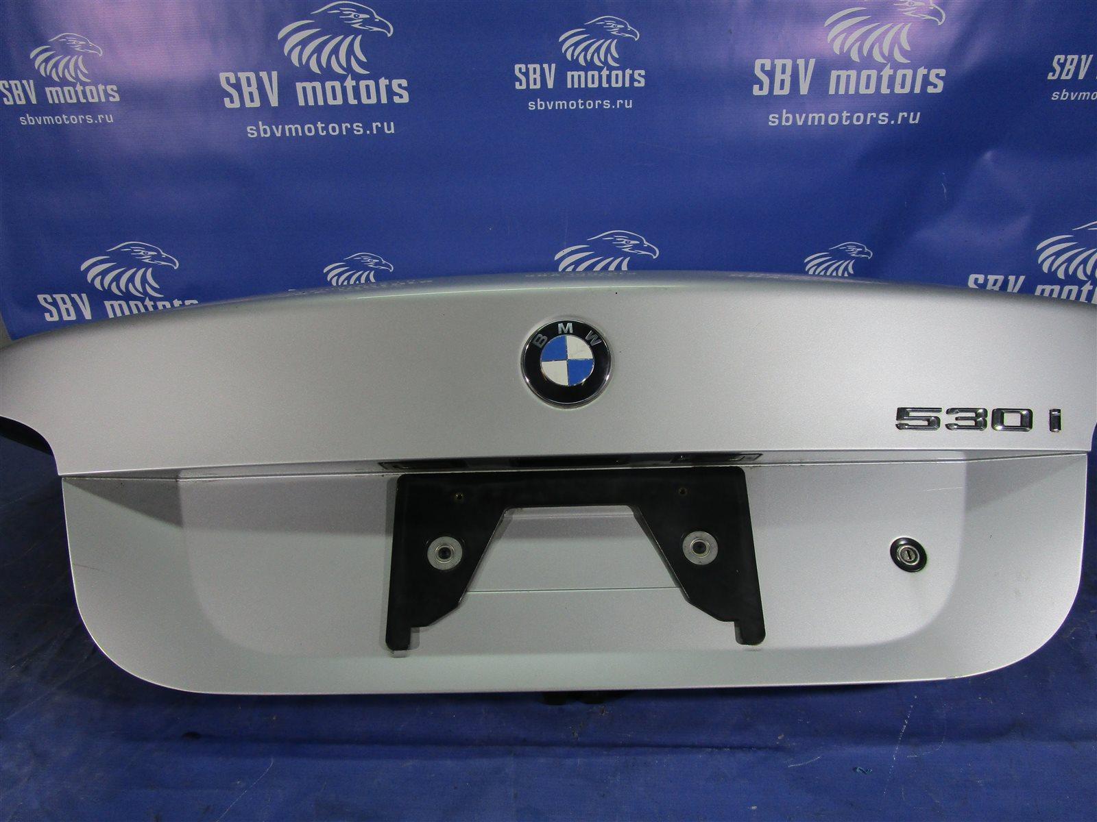 Крышка багажника Bmw 5-Series E60 M54 306S3 2004 задняя