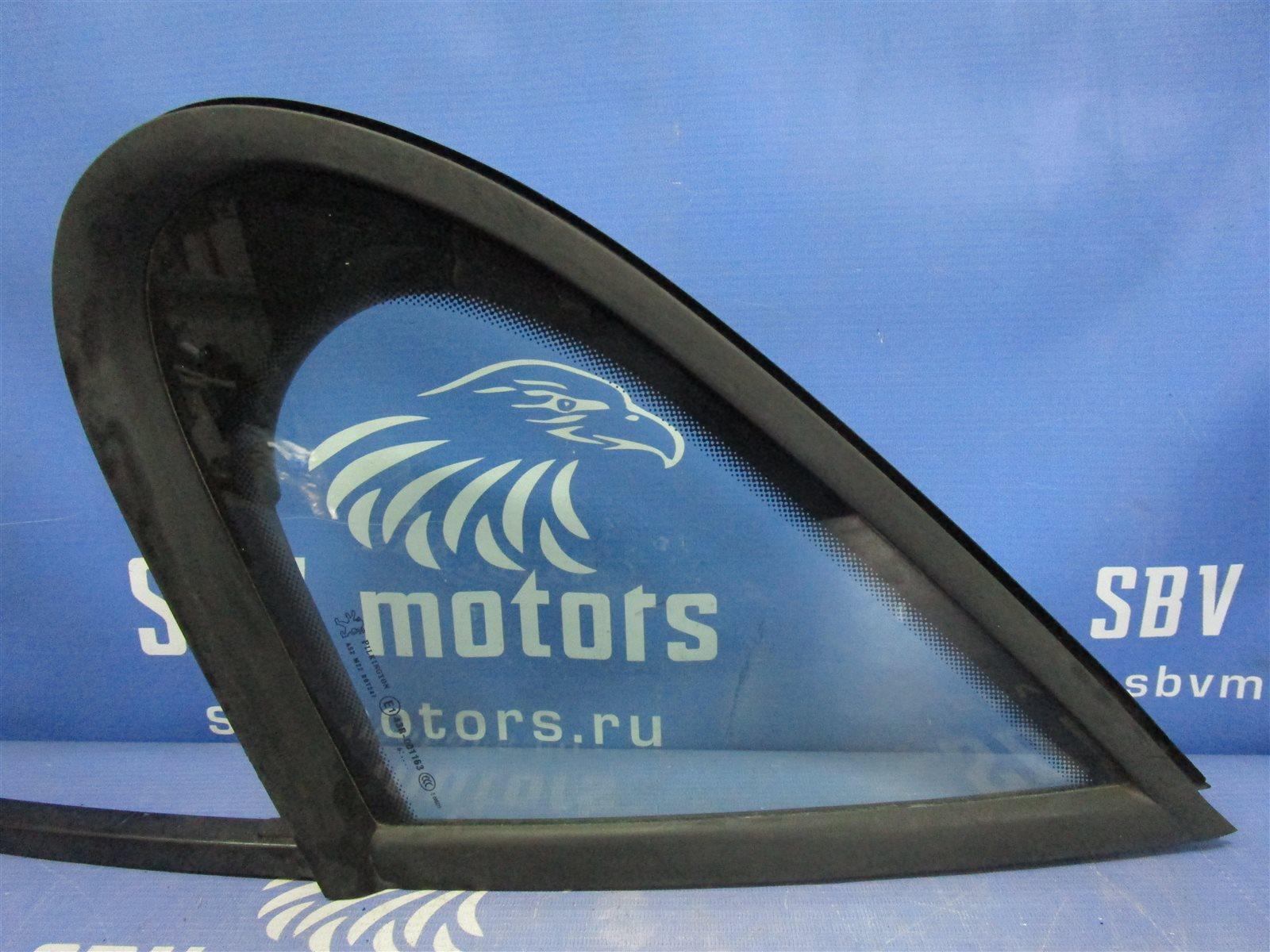 Стекло двери Peugeot 207 NFU10RX4X переднее левое