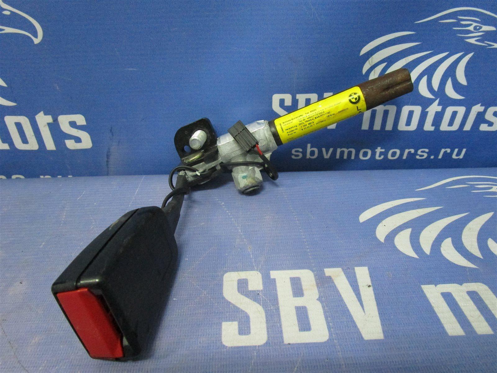 Ответная часть ремня безопасности Bmw 5-Series E60 M54 306S3 2004 передняя левая