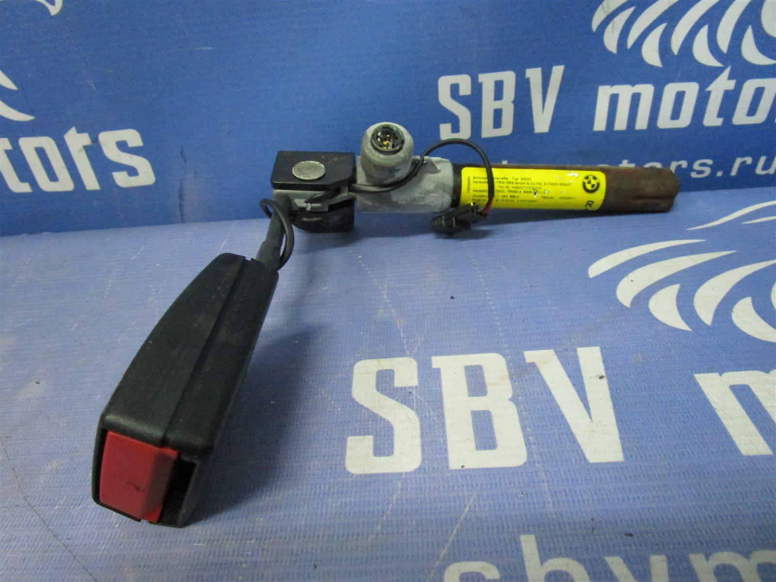 Ответная часть ремня безопасности Bmw 5-Series E60 M54 306S3 2004 передняя правая