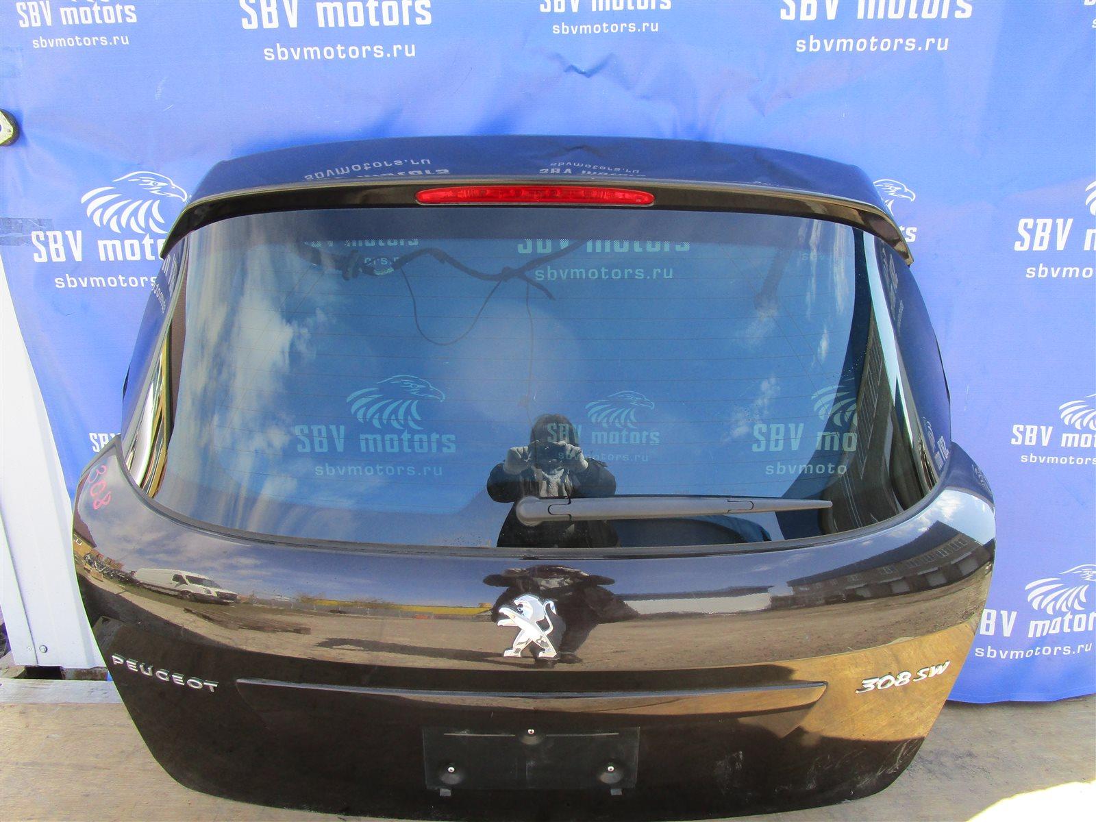 Крышка багажника Peugeot 308 SW EP6 задняя