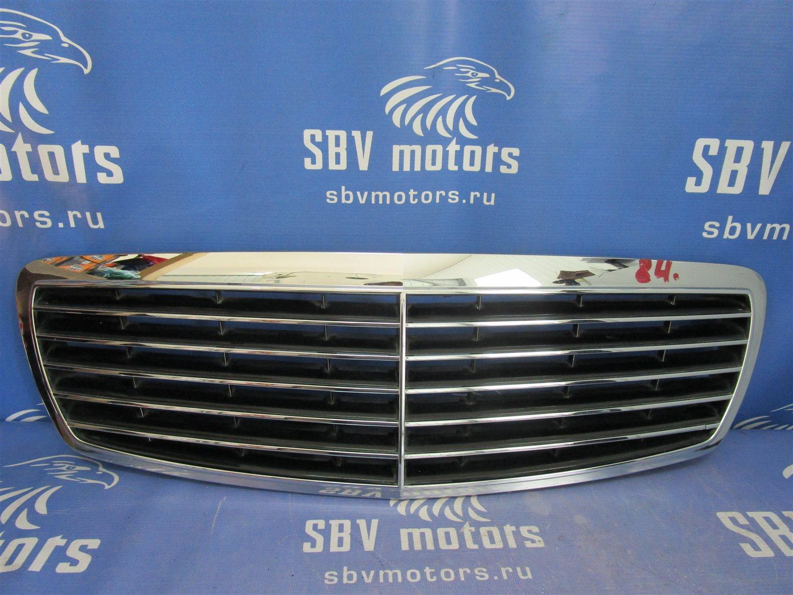 Решетка радиатора Mercedes-Benz E W211 112.949 2004 передняя