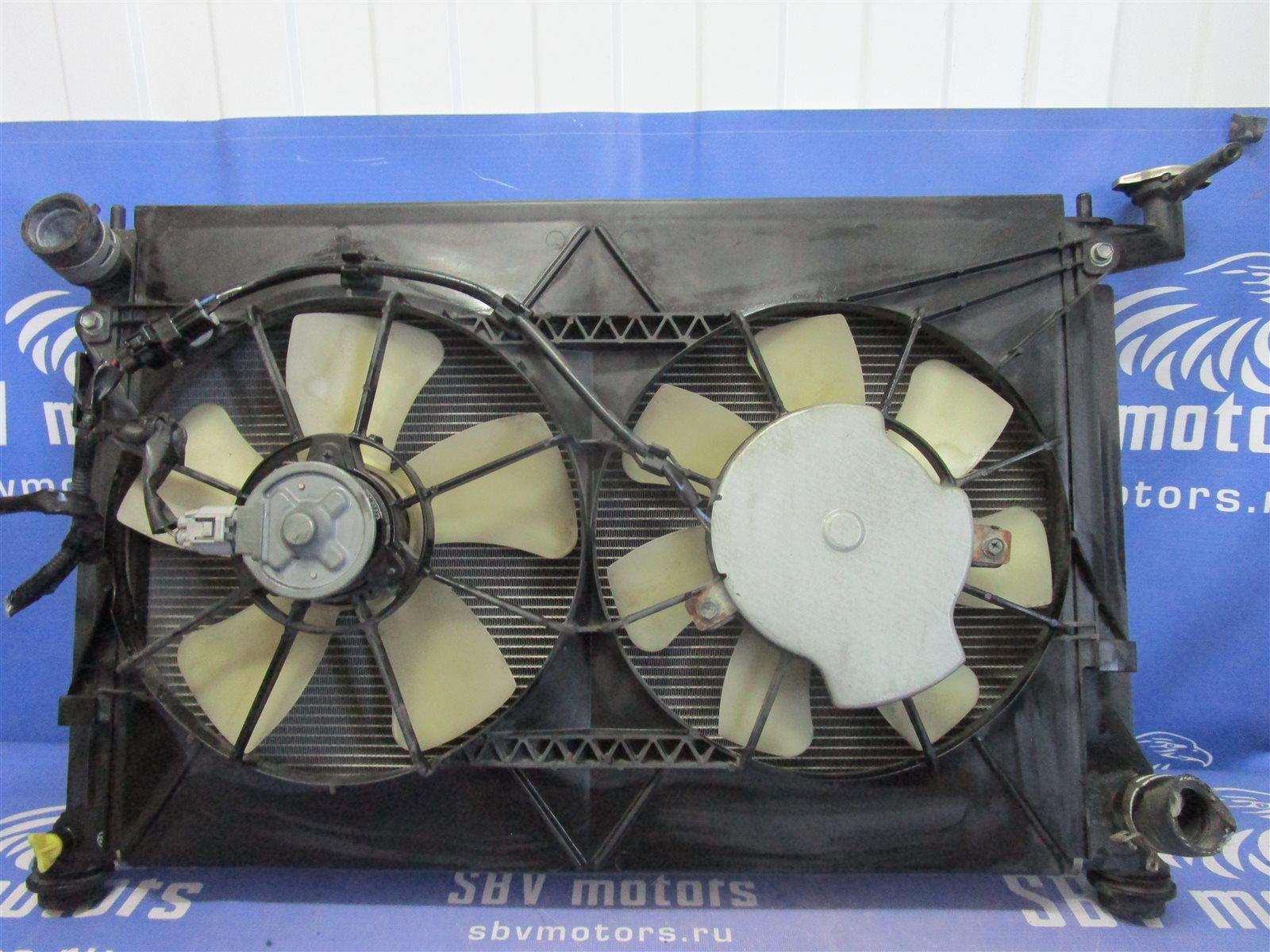 Вентилятор радиатора Toyota Isis ANM10 передний