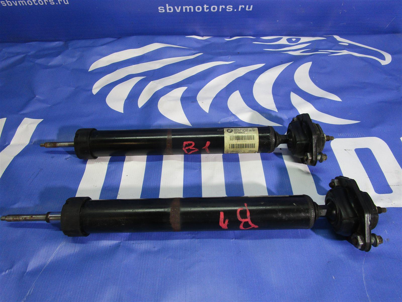 Амортизаторы Bmw 1-Series E87 N52B30A 2008 задние