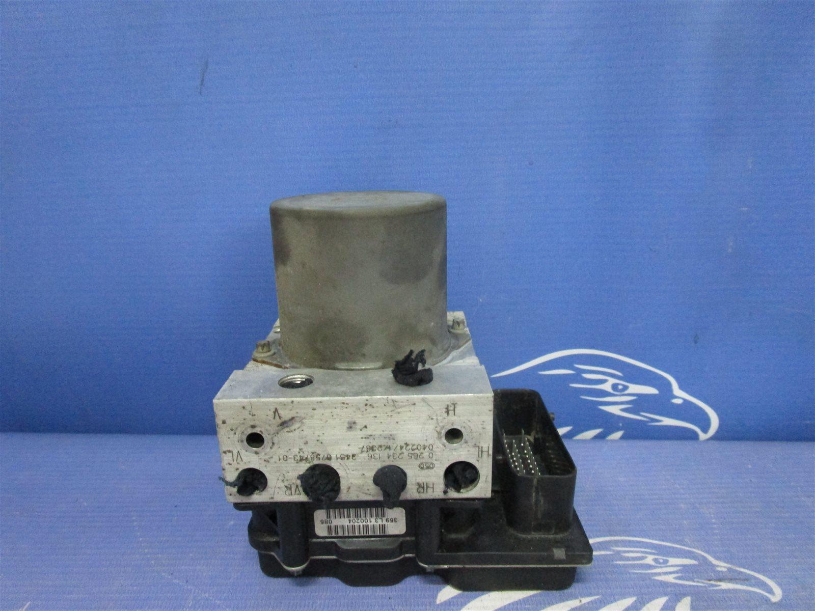 Блок abs Bmw 5-Series E60 M54 306S3 2004