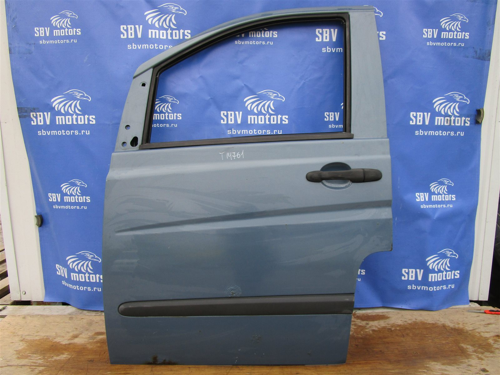 Дверь Mercedes-Benz Vito W639 646982 2005 передняя левая