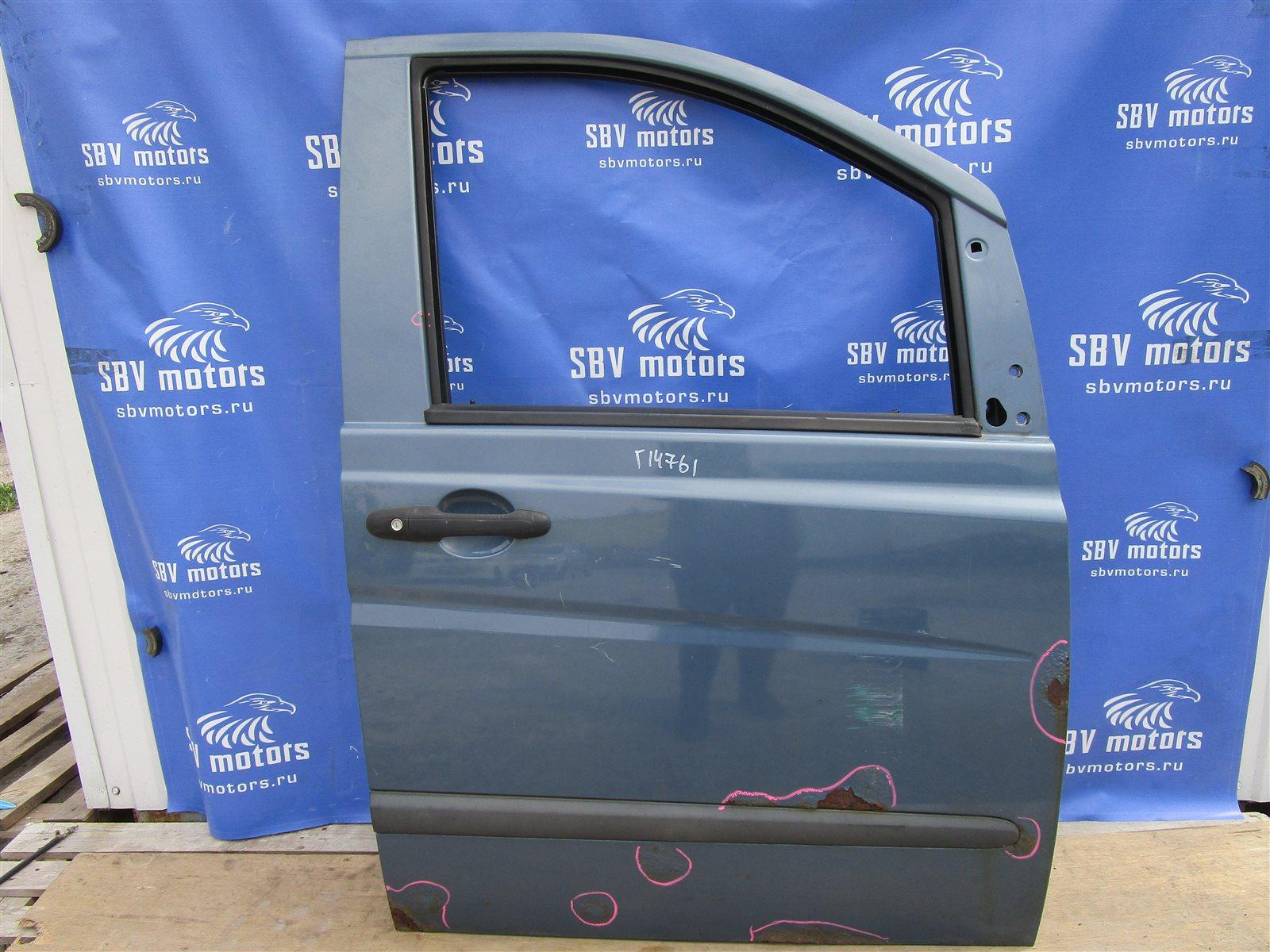 Дверь Mercedes-Benz Vito W639 646982 2005 передняя правая