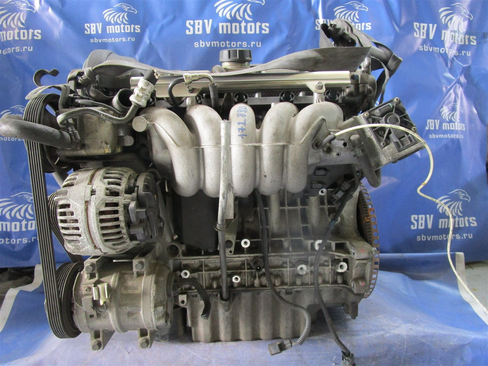 Двигатель Volvo B5254S