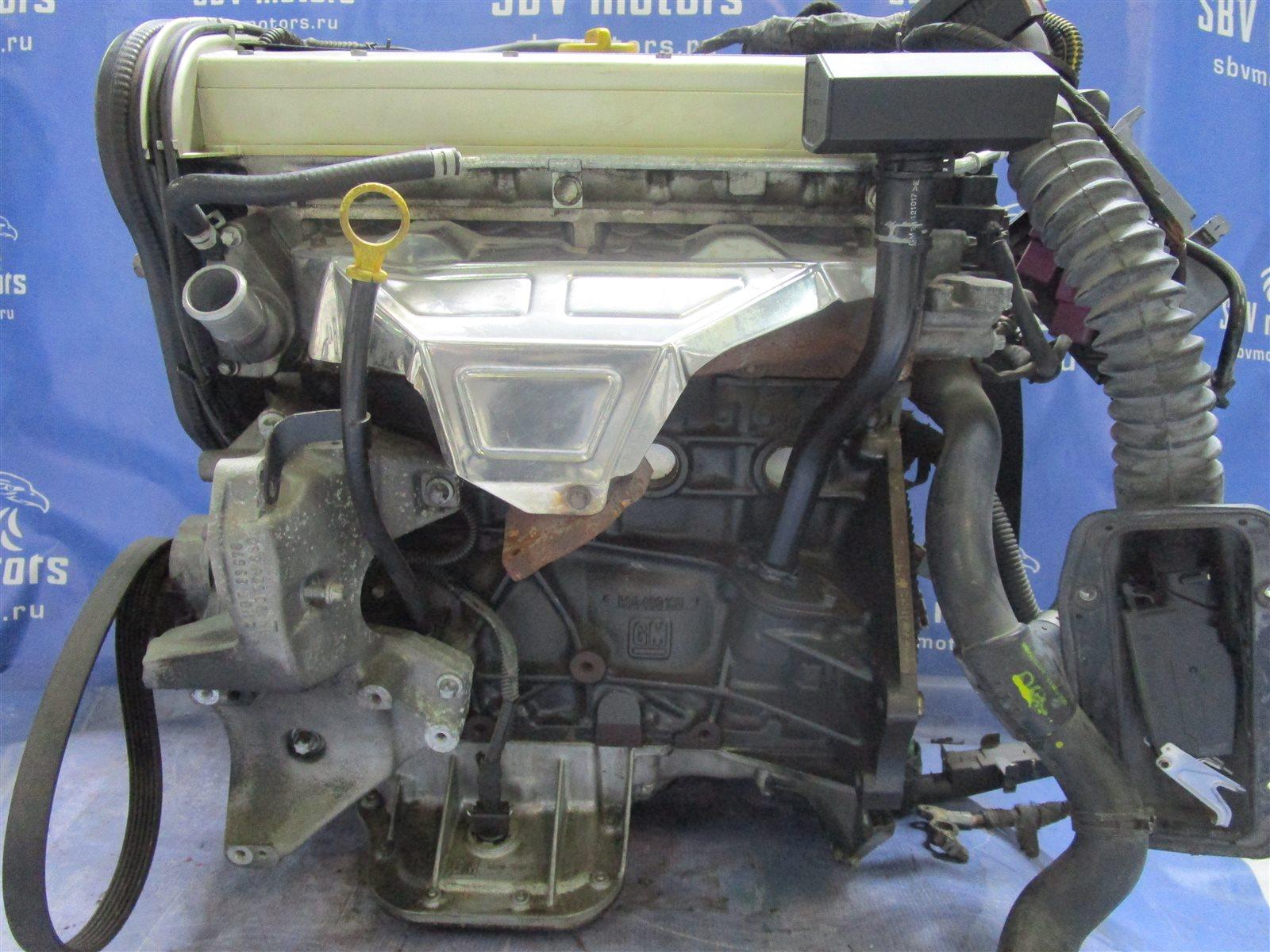 Двигатель Opel Vectra B XH201 C20CEL 2000