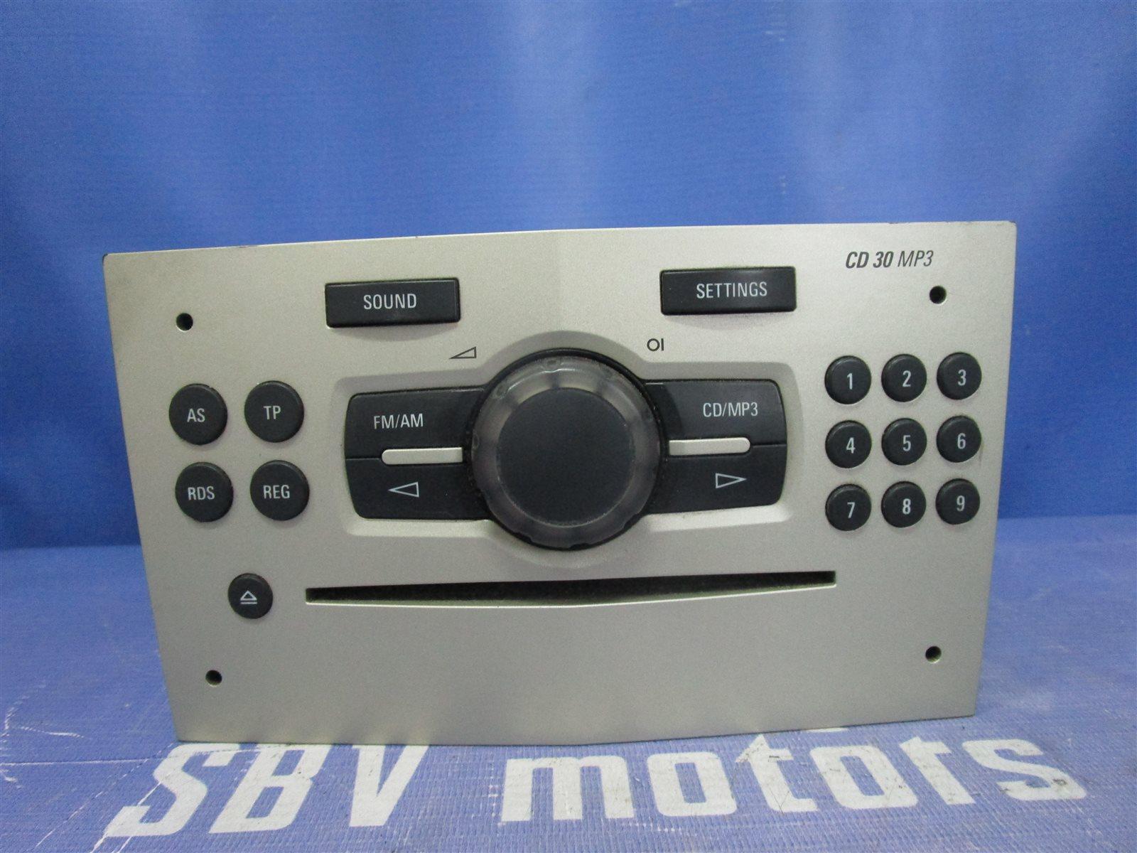 Магнитола , радио Opel Corsa ХЭТЧБЕК Z12XEP 2008