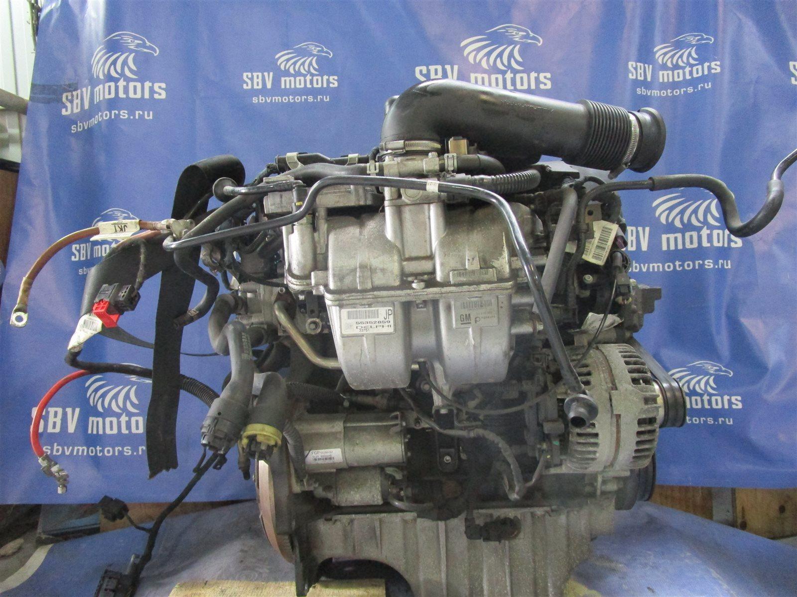 Двигатель Opel Astra H L48 Z16XEP 2006
