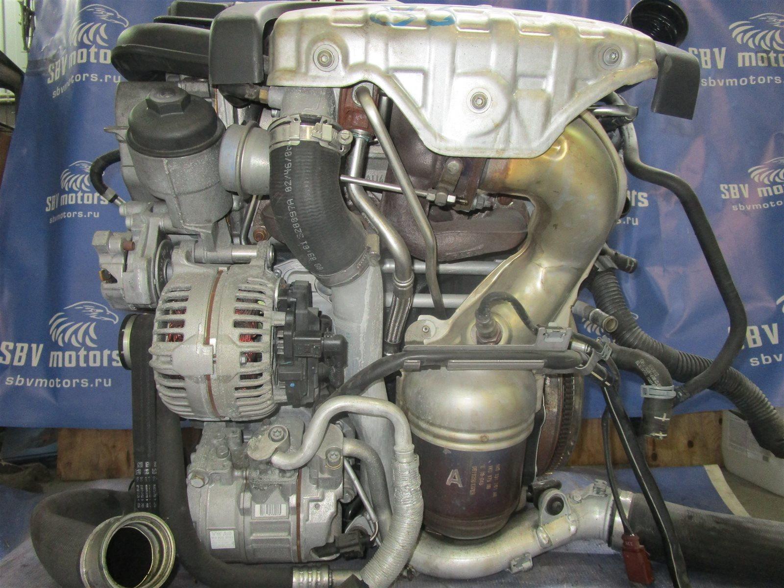 Двигатель Volkswagen Touran 1TBMY BLG 2008