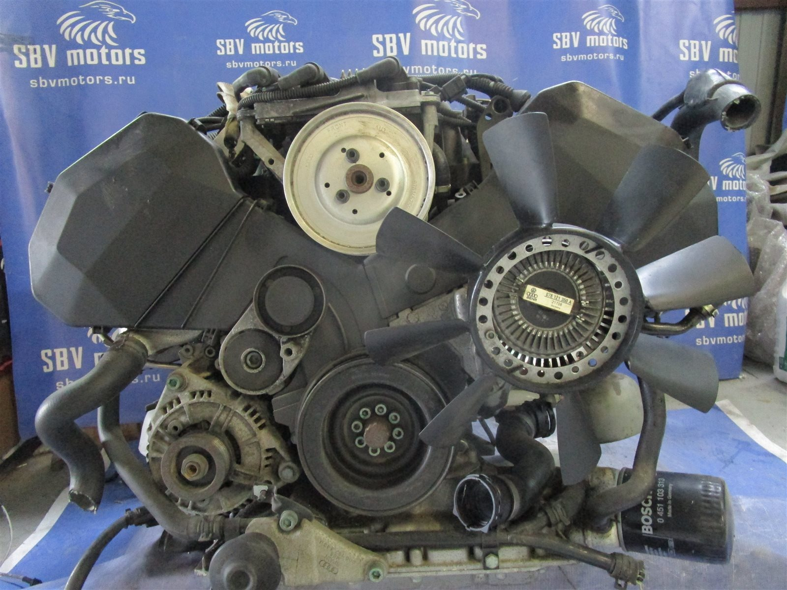Двигатель Audi A4 B5 AGA 1998