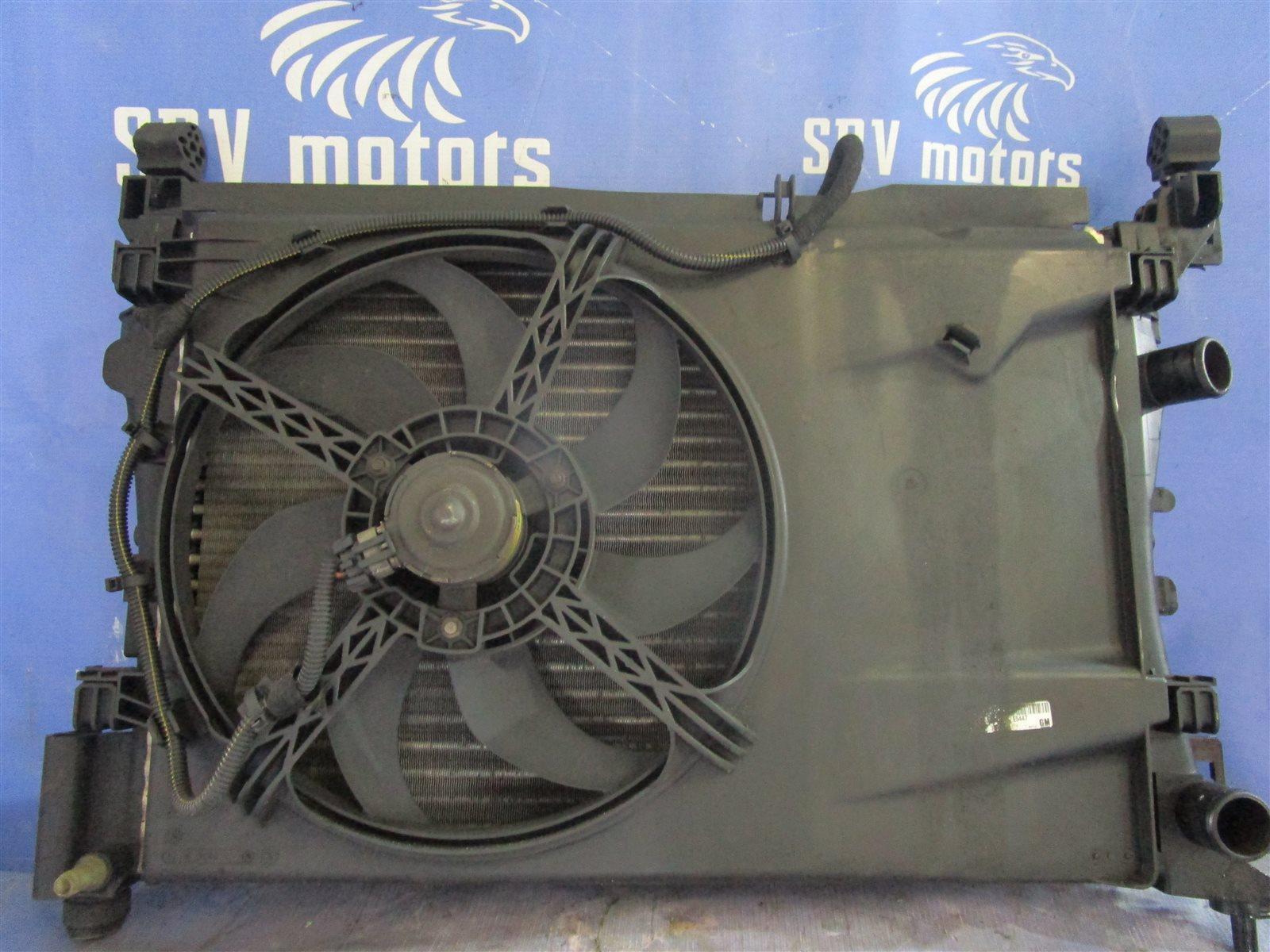 Вентилятор радиатора Opel Corsa ХЭТЧБЕК Z12XEP 2008