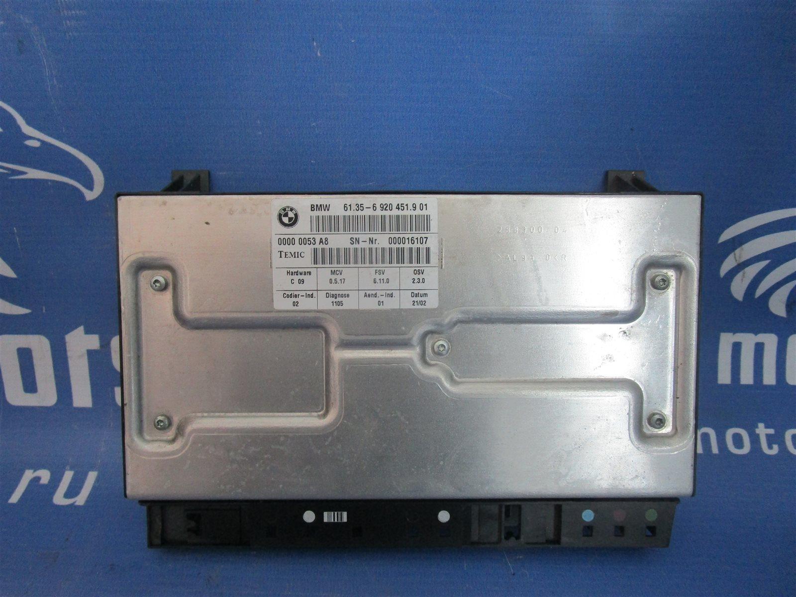 Блок управления сидением Bmw 7-Series E65/66 N62B44A 2002