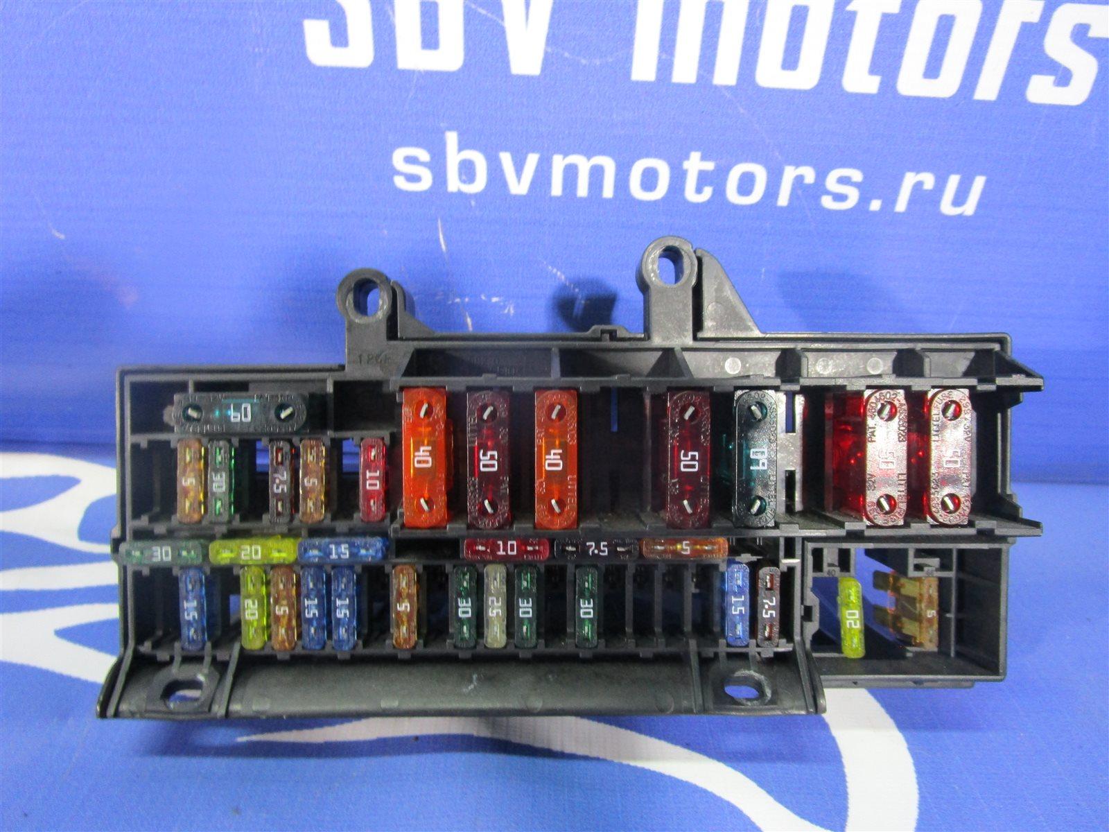 Блок предохранителей Bmw 7-Series E65/66 N62B44A 2002