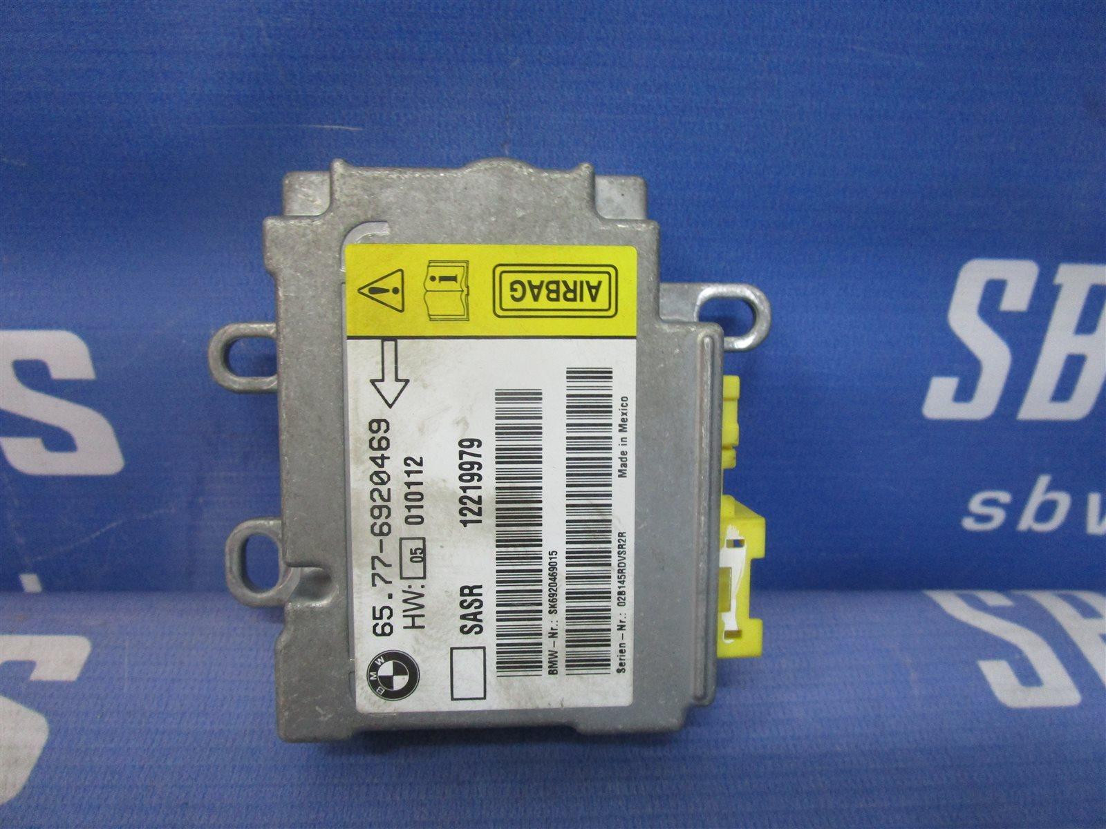 Блок управления аирбаг Bmw 7-Series E65/66 N62B44A 2002