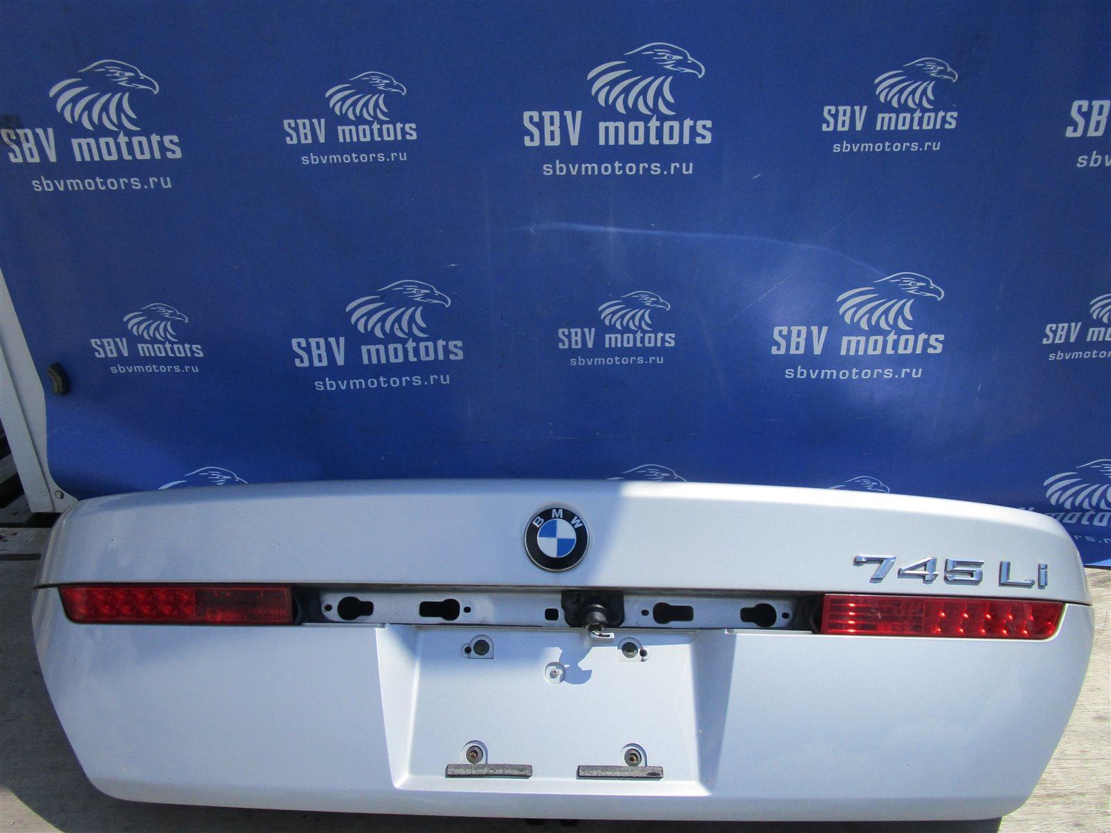 Крышка багажника Bmw 7-Series E65/66 N62B44A 2002