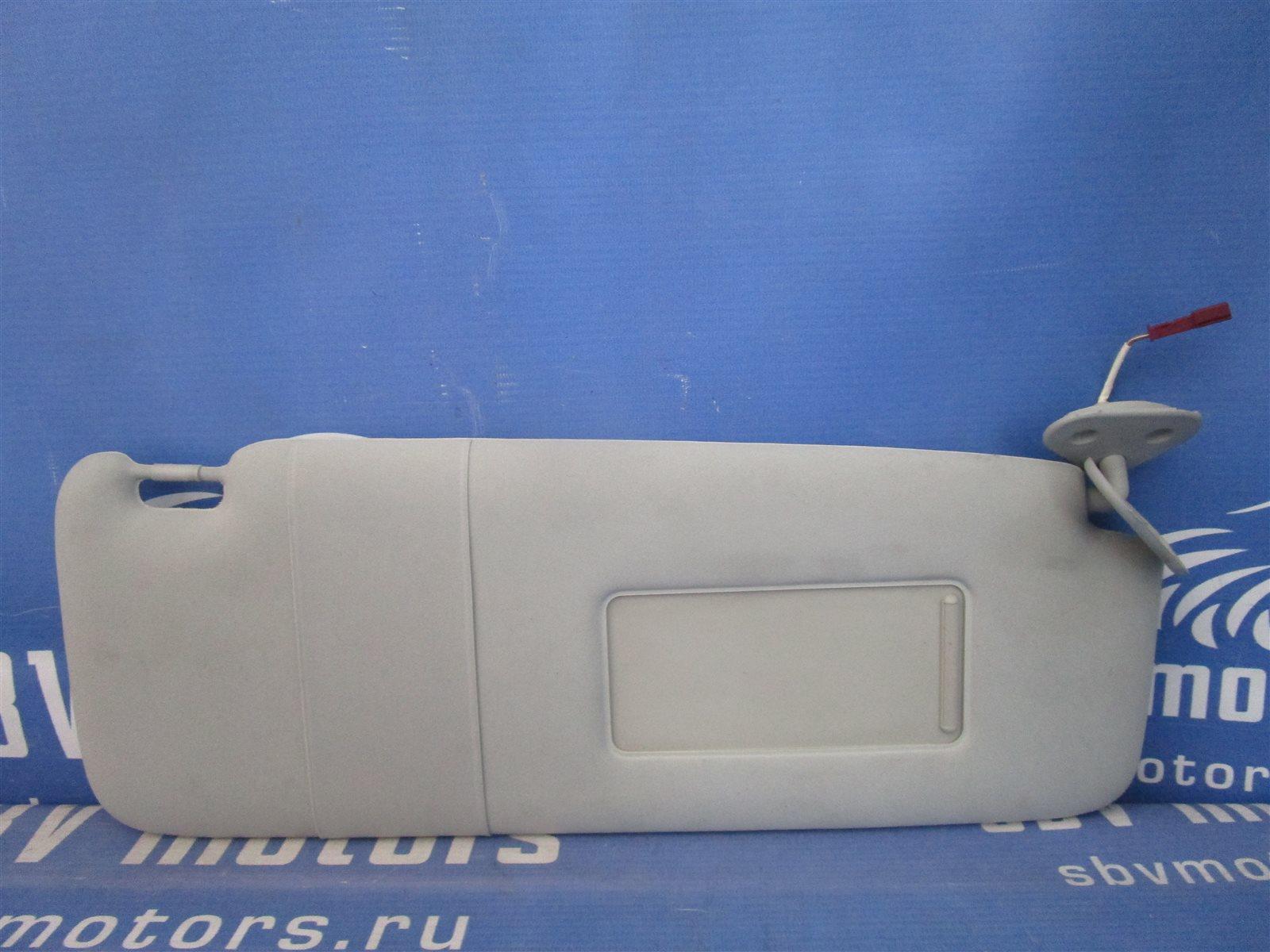 Козырек солнцезащитный Bmw 7-Series E65/66 N62B44A 2002 правый