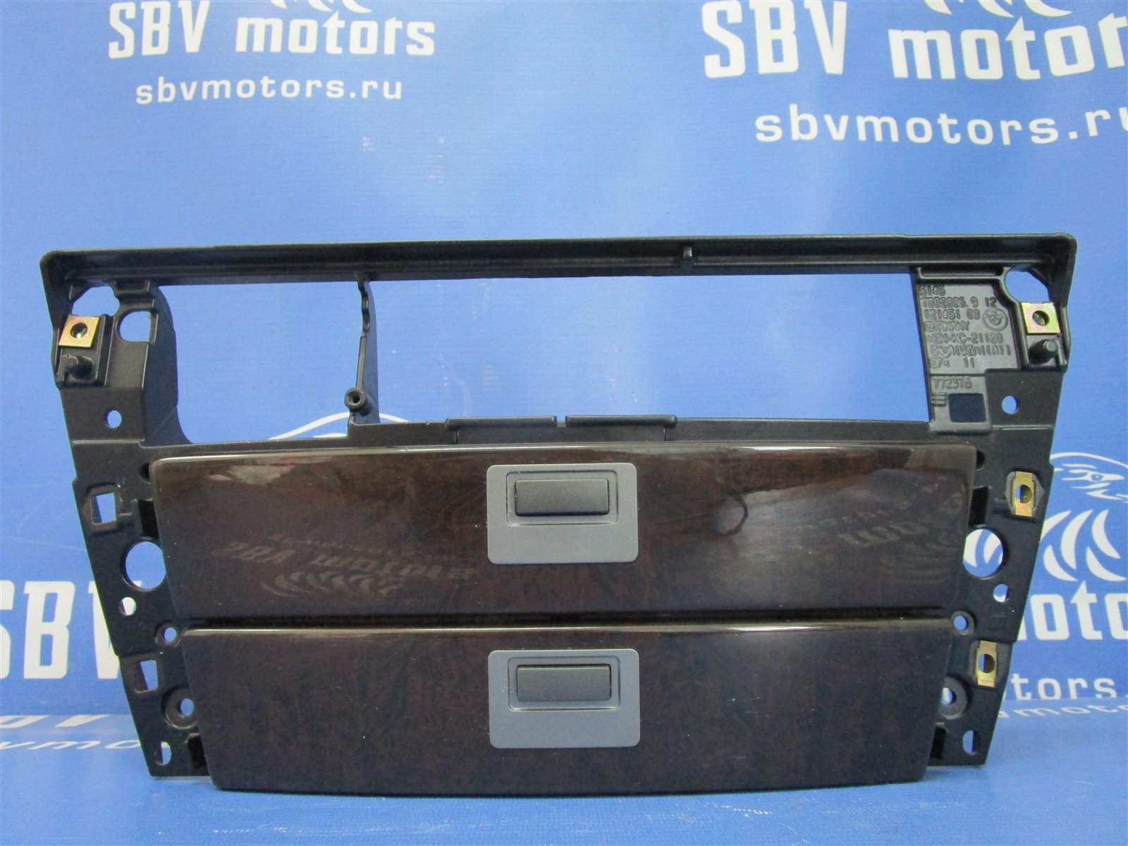 Панель передняя Bmw 7-Series E65/66 N62B44A 2002