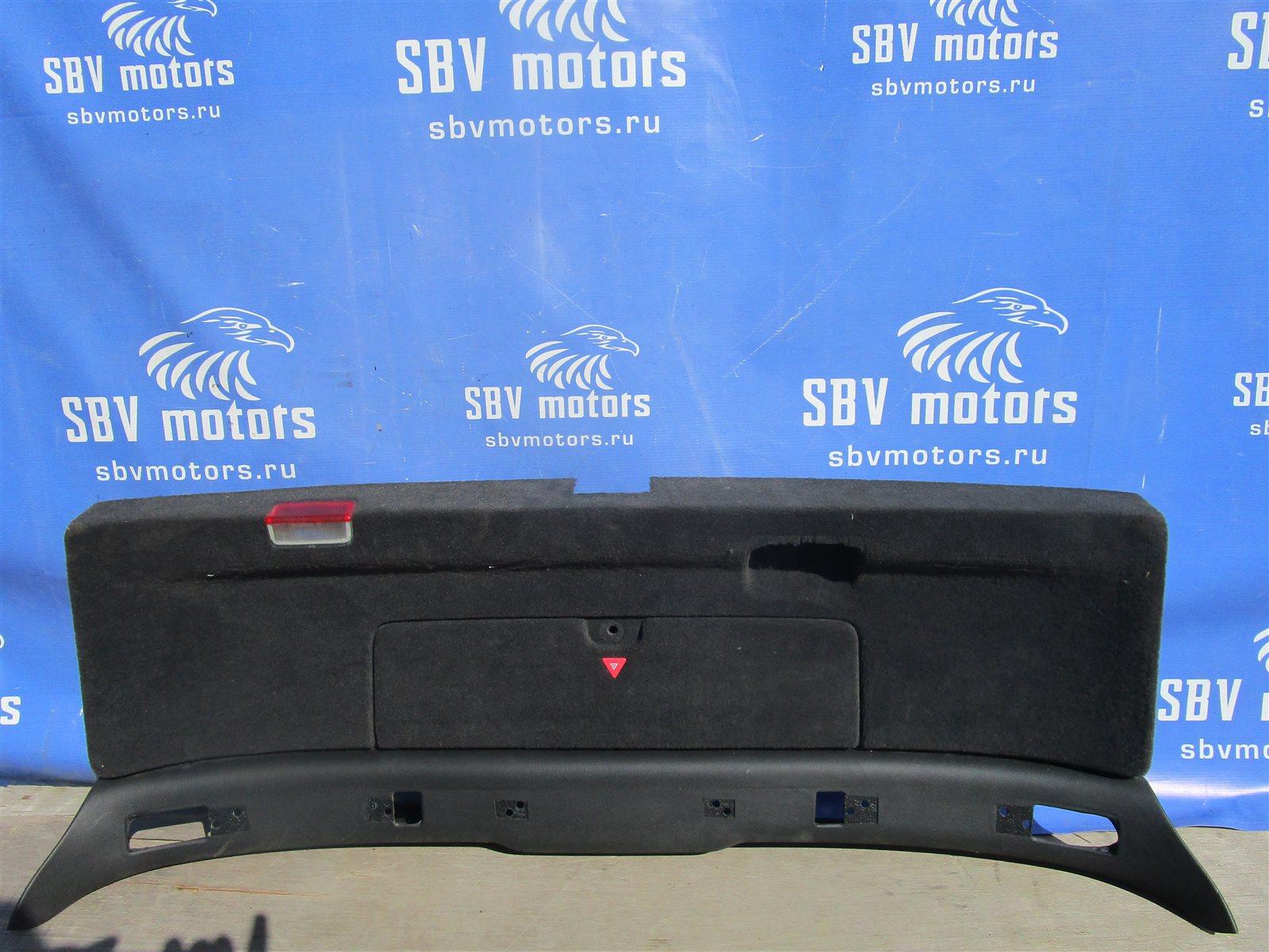 Обшивка багажника Audi Allroad C5 BES 2002