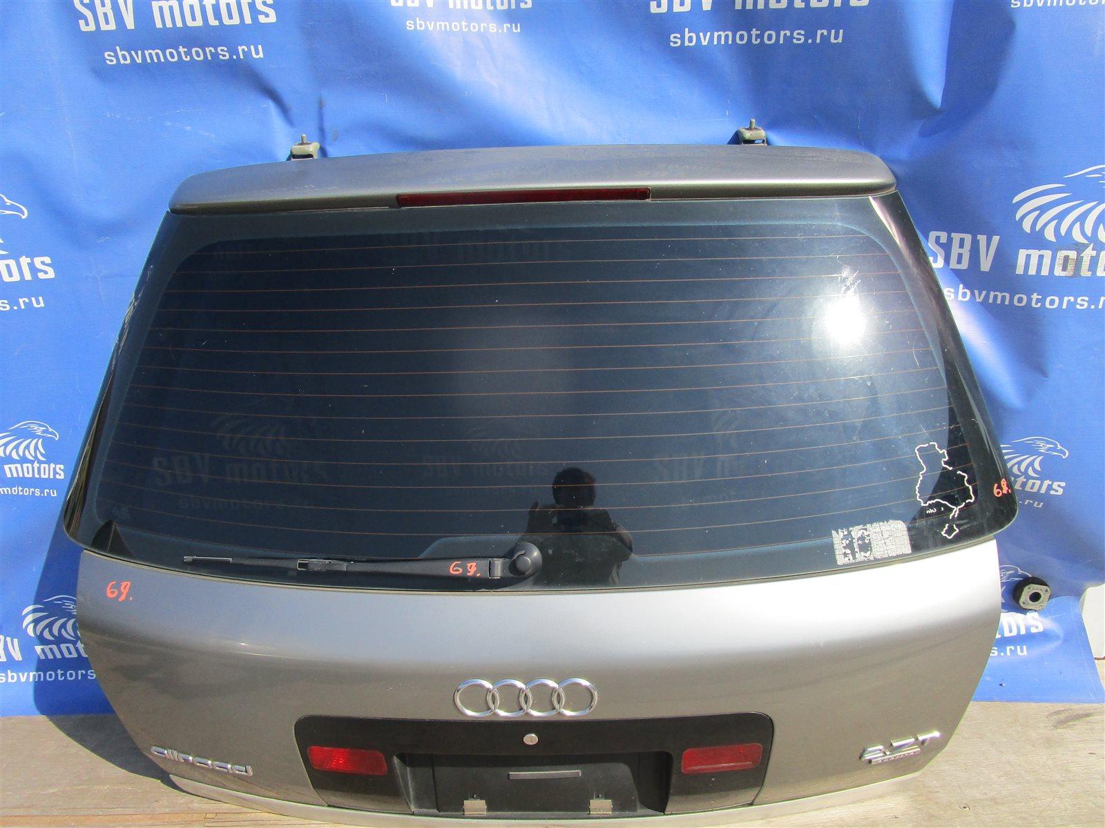 Крышка багажника Audi Allroad C5 BES 2002 задняя