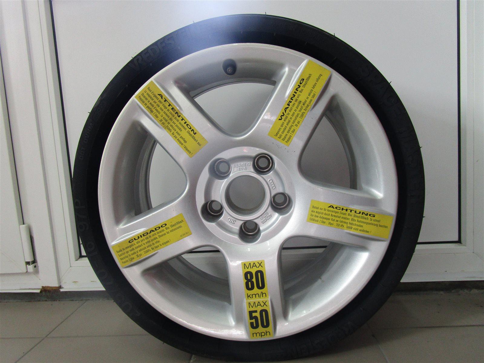 Запаска 205/70/16 Audi Allroad C5 BES 2002