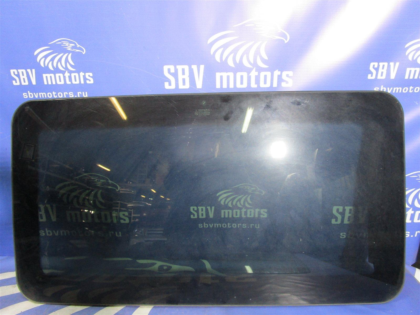 Стекло люка Bmw 7-Series E65/66 N62B44A 2002 верхнее