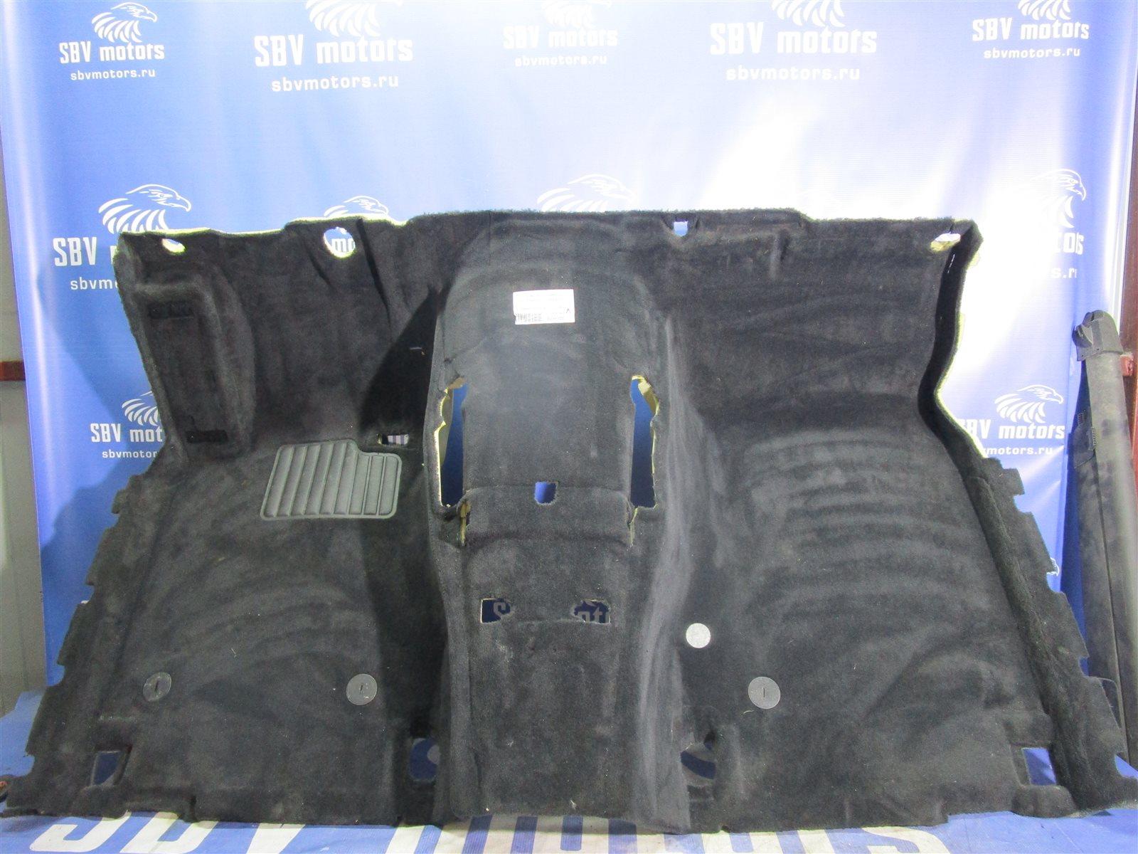 Ковер салона Bmw 7-Series E65/66 N62B44A 2002 передний