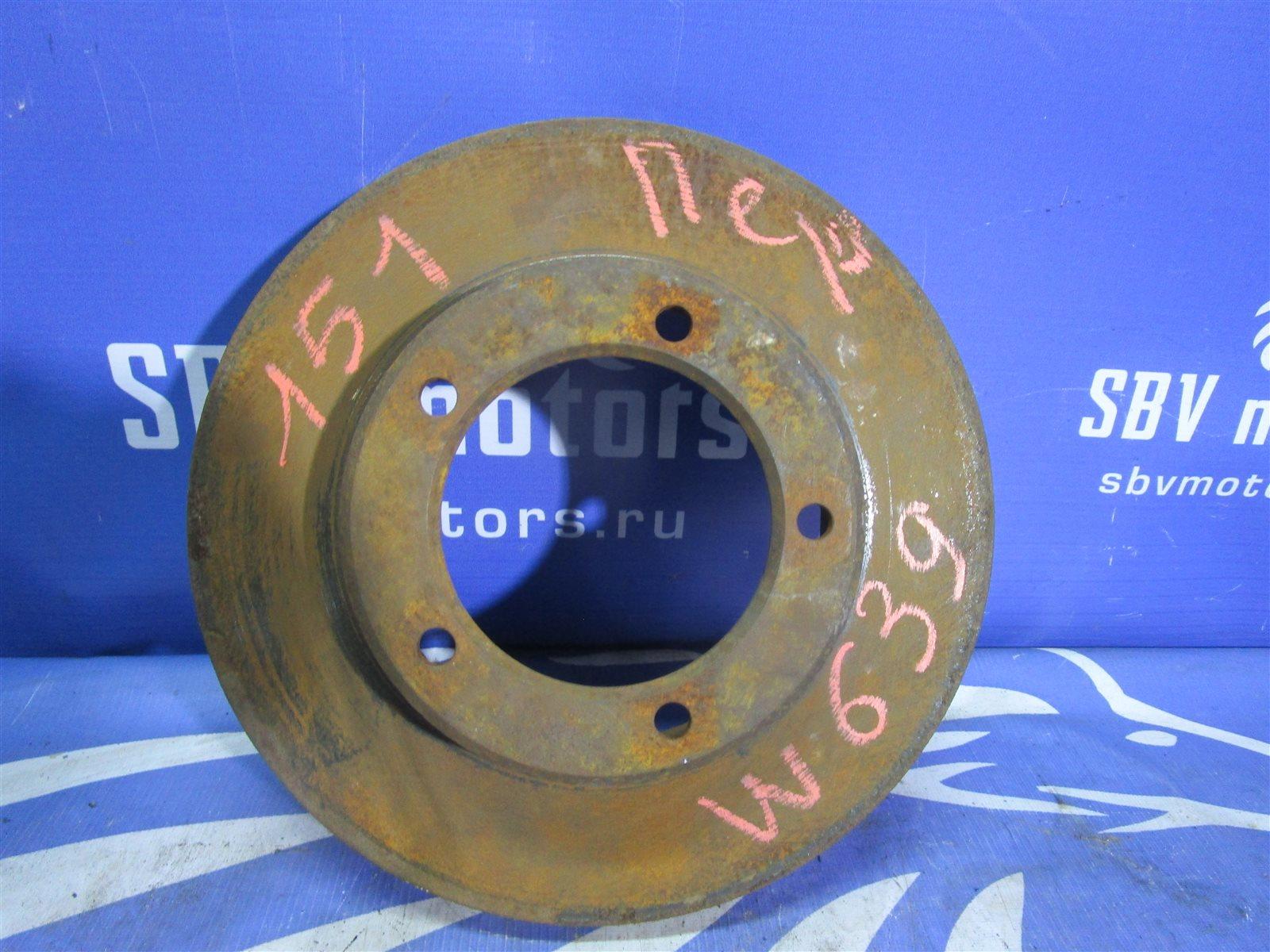 Тормозной диск Mercedes-Benz Vito W639 646982 2005 передний